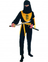 Disfraz amarillo de dragon ninja para niño