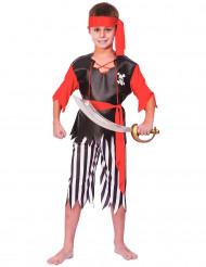 Disfraz de pirata para niño o niña