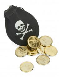 Pequeño monedero de pirata