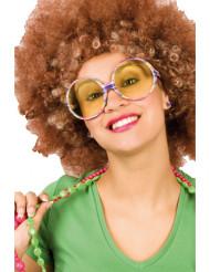 Gafas de hippie para adulto