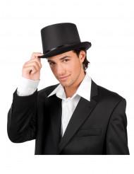 Sombrero de copa de gala color negro para adulto