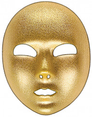 Máscara dorada