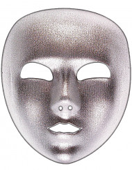 Máscara plateada