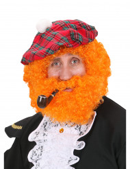 Peluca naranja escocesa