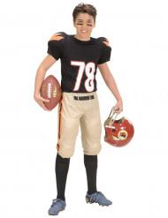 Disfraz de jugador de fútbol americano para niño