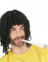 Peluca estilo rastafari para hombre