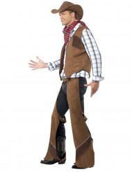 Disfraz de vaquero para hombre del Oeste