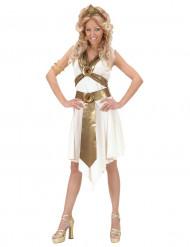 Disfraz de túnica romana para mujer