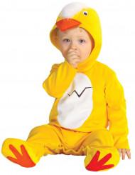 Disfraz de polluelo para bebé
