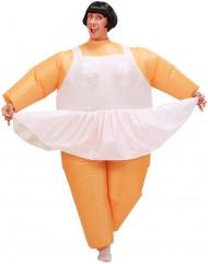 Disfraz de bailarina inflable