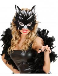 Antifaz de gata negra