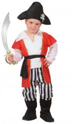 Disfraz de pirata bucanero para niño