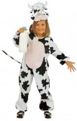 Disfraz de vaca para niña