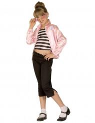 Disfraz de Pink Ladies para niña