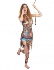 Disfraz de reina de la selva para mujer