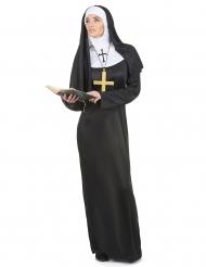 Disfraz de monja para mujer largo