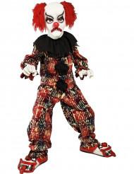 Disfraz de payaso terrorífico para niño o niña