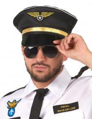 Gorra de piloto para adulto