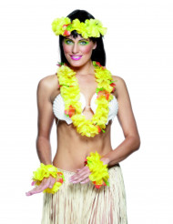 Set hawaiano amarillo