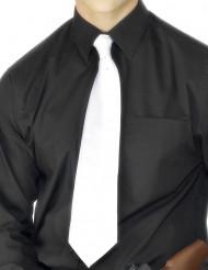 Corbata blanca de gánster