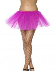 Tutú rosa para mujer bailarina