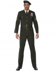 Disfraz de oficial militar para hombre