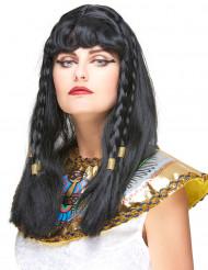 Peluca de Cleopatra para mujer