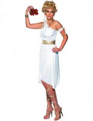 Disfraz blanco de mujer griega