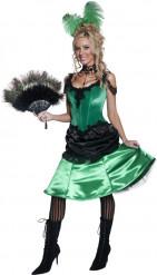 Disfraz de mujer de saloon