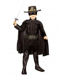 Disfraz musculoso de El Zorro™ para niño