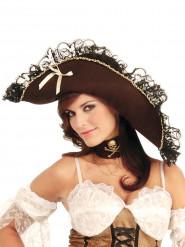 Sombrero pirata para mujer