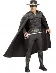 Disfraz musculoso de El Zorro™ para hombre