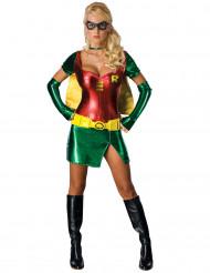 Disfraz de Robin™ brillante para mujer