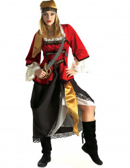 Disfraz de pirata para mujer lujo