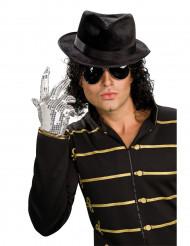 Guante de Michael Jackson™ con lentejuelas plateadas para adulto