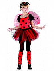 Disfraz de mariquita para niña divertida