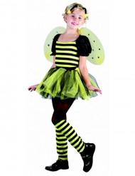 Disfraz de abeja para niña con tutú