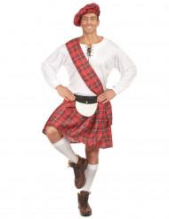 Disfraz de escocés gorro para hombre