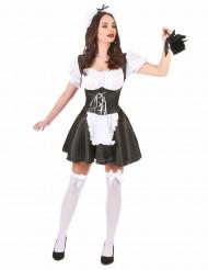 Disfraz de criada corset para mujer