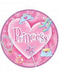 Platos estilo princesa