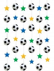 Cadena para colgar estilo fútbol