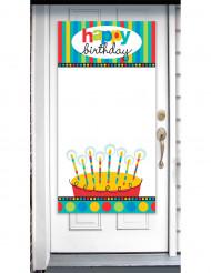 Artículo decorativo personalizable Happy birthday