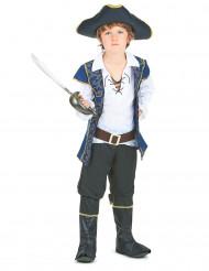 Disfraz de pirata para niño azul