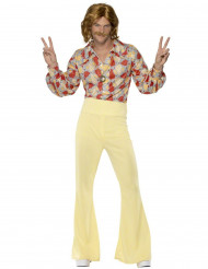 Disfraz de hippie años 60 para hombre
