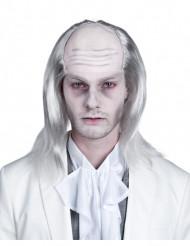Peluca blanca de zombie