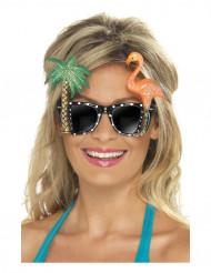 Gafas con palmeras