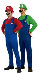 Disfraz de pareja Luigi y Mario Bros™