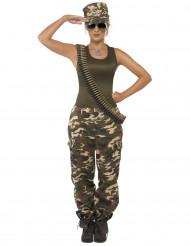 Disfraz de militar para mujer