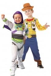 Disfraz infantil de pareja de Woody y Buzz Lightyear de Toy Story -Disney Pixar™