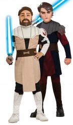 Disfraz infantil de pareja de Anakin Skywalker y Obi Wan Kenobi de Star Wars™